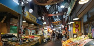 Chợ truyền thống Hàn Quốc