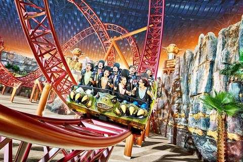 Du lịch mùa thu Dubai khám phá khu vui chơi IMG Webs of Adventure